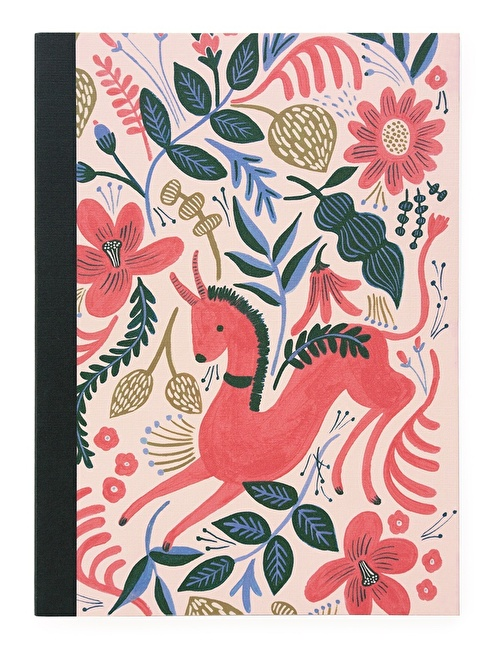 Rifle Paper Co. Ruby Folk Defter Renkli